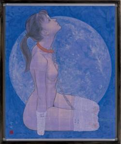 """《犬(雪月花のうち""""月"""")》1996年"""