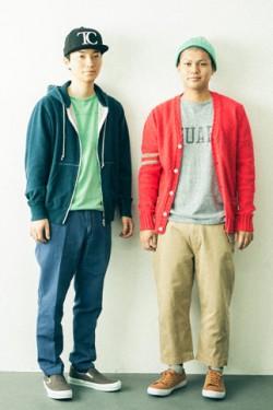 TWIN CROSS(左から)TOSHI、DAN
