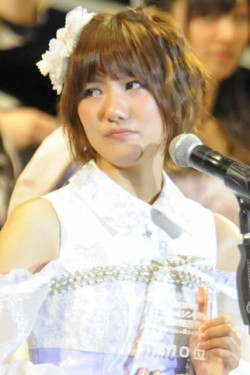 SNH48一本で……決意を語った10位の宮澤佐江