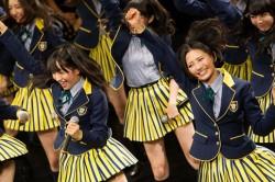 ノリノリなHKT48メンバー