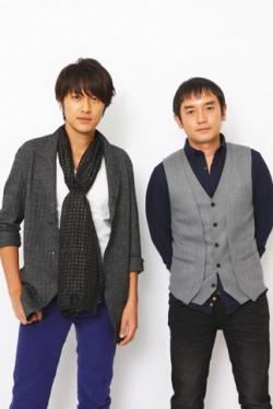 ゆず北川悠仁(左)、岩沢厚治