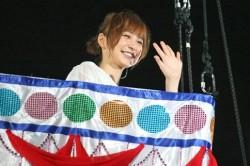 5大ドームツアー時の模様 篠田麻里子