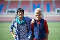 UKASUKA-G(ウカスカジー)左から桜井和寿、GAKU-MC