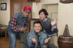 """旬の""""演歌男子""""が多数出演!写真は第5回、6回出演の(左から)ジェロ、北川大介、松原健之"""