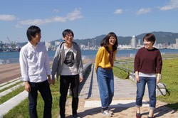 神戸学院大学「ミスキャンパスと行く! キャンパス探訪」