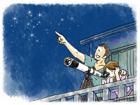 夏の夜は空を見よう  天体観測の楽しみ方