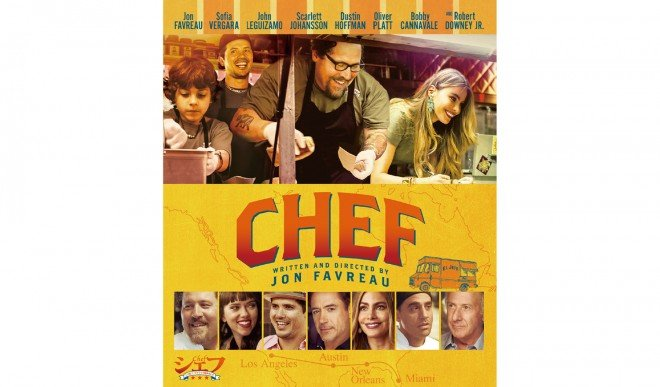 Blu-ray税抜1800円 発売・販売元:(株)ソニー・ピクチャーズ エンタテインメント (C) 2014 Sous Chef, LLC. All Rights Reserved.