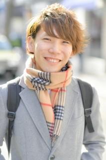 田所慎ノ介(19)栃木「友人との談笑」