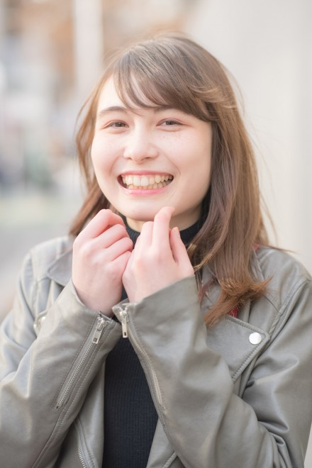 MISA(20)神奈川「友だちといると自然に笑える」