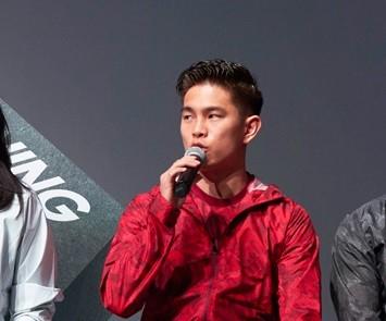 2月に行われたADIDAS TRAININGの発表会に登壇しトレーニングについて語った井岡選手。