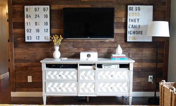 こんなテレビの壁掛けも、自分でできるようになる。