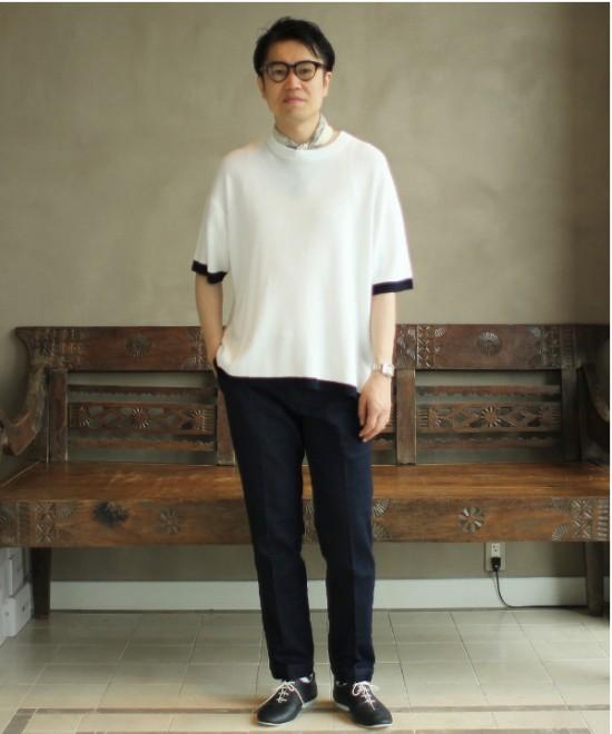 「ビームス ライツ」のニットTシャツ9800円(税抜)