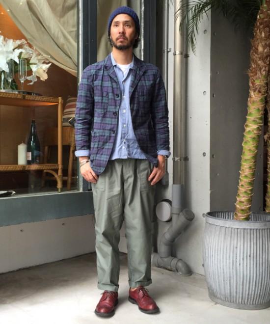 「ビームス プラス」のベイカーパンツ1万4000円(税抜)