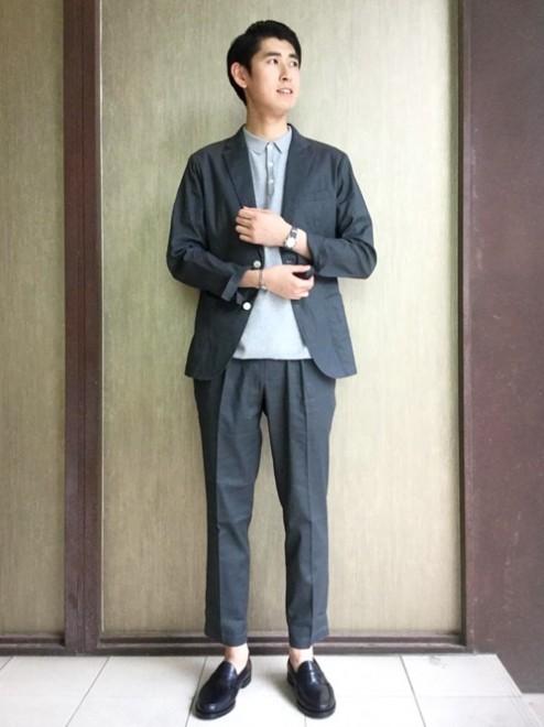 「シップス」のタックパンツ1万3800円(税抜)