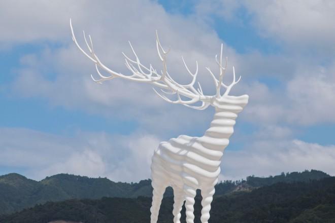 Kohei Nawa,White Deer(Oshika)