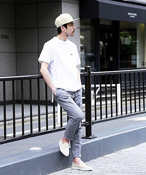 「ラコステ×エディフィス」のTシャツ8000円(税抜)