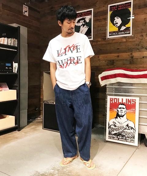 「SNMS×ジャーナル スタンダード トライセクト-2」のTシャツ6800円(税抜)