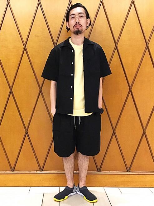 「シップス ジェットブルー」のショーツ9000円(税抜)