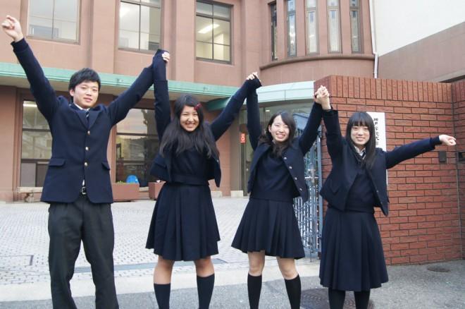 高大連携で得たものはいっぱい!(左から)三原遼さん、妹尾真実さん、大矢美希さん、森万理恵さん