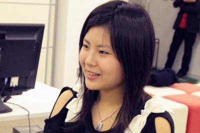 松浦咲里さん(総合情報学部2年生)