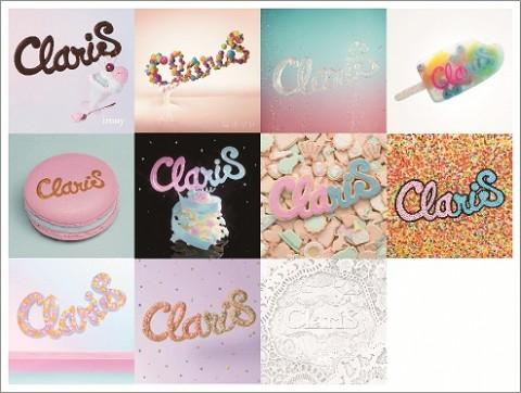 アニソンユニット・ClariSは、デビュー以来、タイアップと連動した人気イラストレーターらによるイメージイラストのみで登場。写真は4月15日に発売される初のベスト『ClariS 〜SINGLE BEST 1st〜』ジャケット写真