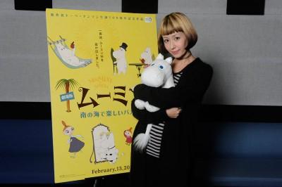 映画『劇場版ムーミン 南の海で楽しいバカンス』日本版には木村カエラがイメージソング「eye」を書き下ろし提供。声優にも挑戦している