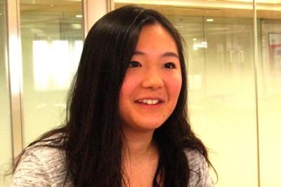 RA 英語キャリア学部英語キャリア学科3回生 田中理紗子さん(国籍:日本)