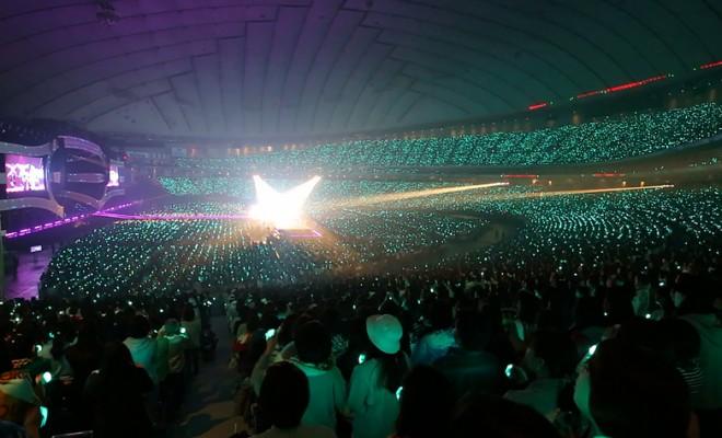 SHINeeの初の東京ドーム2days公演の様子