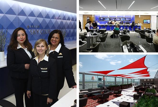 ジョン・F・ケネディ国際空港に同航空最大の広さを持つラウンジ「デルタスカイクラブ」をオープン