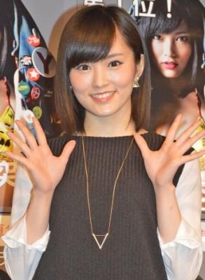 NMB48ファンの期待を一身に背負う山本彩