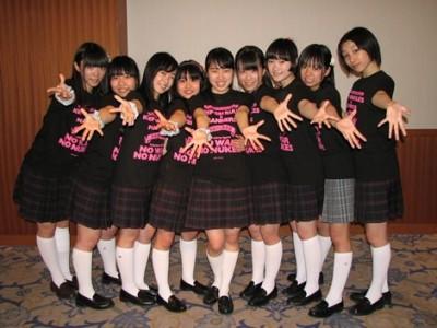 脱原発を訴えるアイドルグループの制服向上委員会 (C)De-View