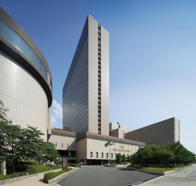 2人がインターンシップ体験をしたリーガロイヤルホテル(大阪・中之島)