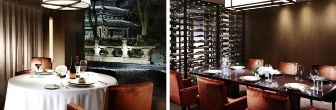 圜丘壇を眺めながら食事ができる「The Ninth Gate Grille」