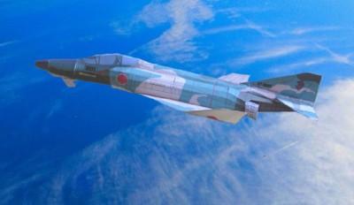 3D紙飛行機版「RF-4E 偵察機」