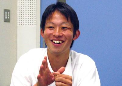 文化会本部会長 木本健太さん(外国語学部英米語学科 4回生)