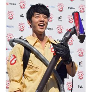 """渋谷の""""ごみ問題""""をエンターテインメント化すると公約したキングコングの西野亮廣=『SHIBUYA Halloween ゴーストバスターズ&TRASH ART』記者発表会"""
