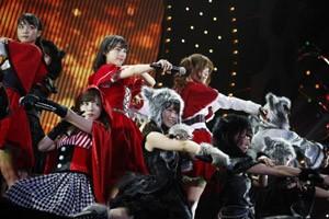 『日テレ HALLOWEEN LIVE 2015』夜公演の乃木坂46のライブの模様