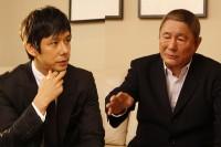 西島秀俊×ビートたけしインタビュー『自分の感覚でしかわからない×もう怖いものはない』