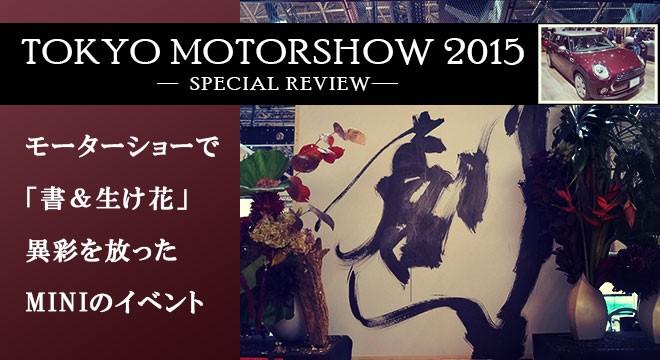 TOKYO MOTORSHOW 2015 -SPECIAL REVIEW-