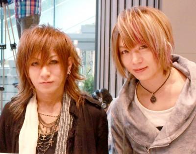 (左から)夕霧、風弥〜Kazami〜