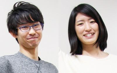 (左から)雪岡亮佑さん(6年)/岡本玖美さん(5年)