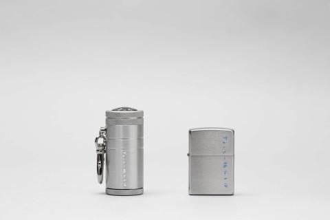 オリジナルZippo&携帯灰皿
