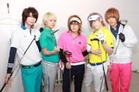 ヴィジュアル系バンド新企画『Vの衝動!調査GIG』始動!DaizyStripperがゴルフに挑戦