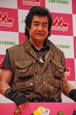初代仮面ライダーの藤岡弘、(69)、現在放送中の大河ドラマ『真田丸』では猛将・本田忠勝を演じている。