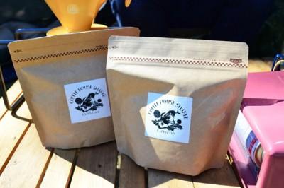 友人のコーヒー専門店の豆を愛飲