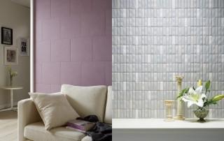 居住スタイルに合わせて選べる、デザイン性の高い多彩なパターンを用意。