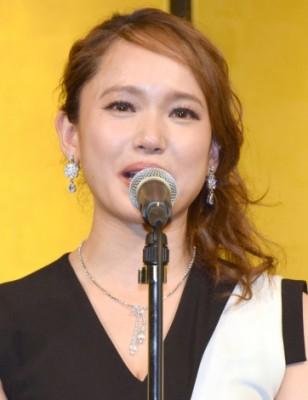 『第41回 菊田一夫演劇賞』を受賞し涙を流すソニン (C)ORICON NewS inc.
