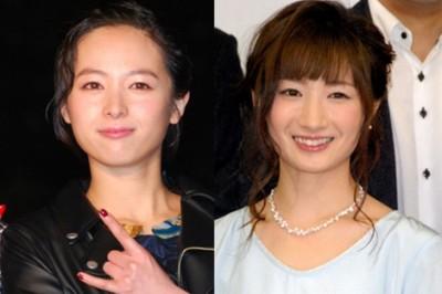 若手アクション女優として注目される清野菜名と武田梨奈(右)