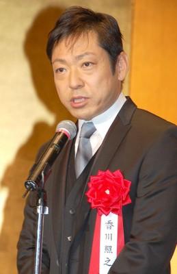 『2014年エランドール賞』の『半沢直樹』チームのお祝いに駆けつけた香川照之 (C)ORICON NewS inc.
