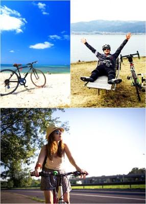 旅行をしたり、通勤したり…自転車の楽しみ方はどんどん多様化してきている